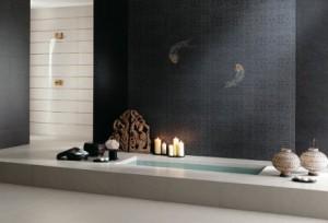 Salle de bain en céramique