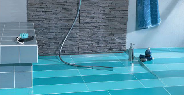 Salle de bain tendance la douche l italienne - Carrelage de douche a l italienne ...